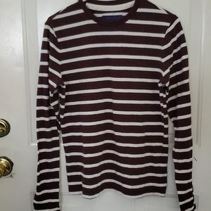 EUC long sleeve striped tee